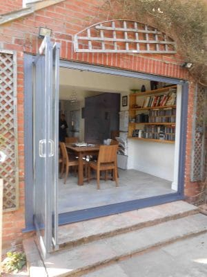 should bifolding doors open in or out? tips and advice