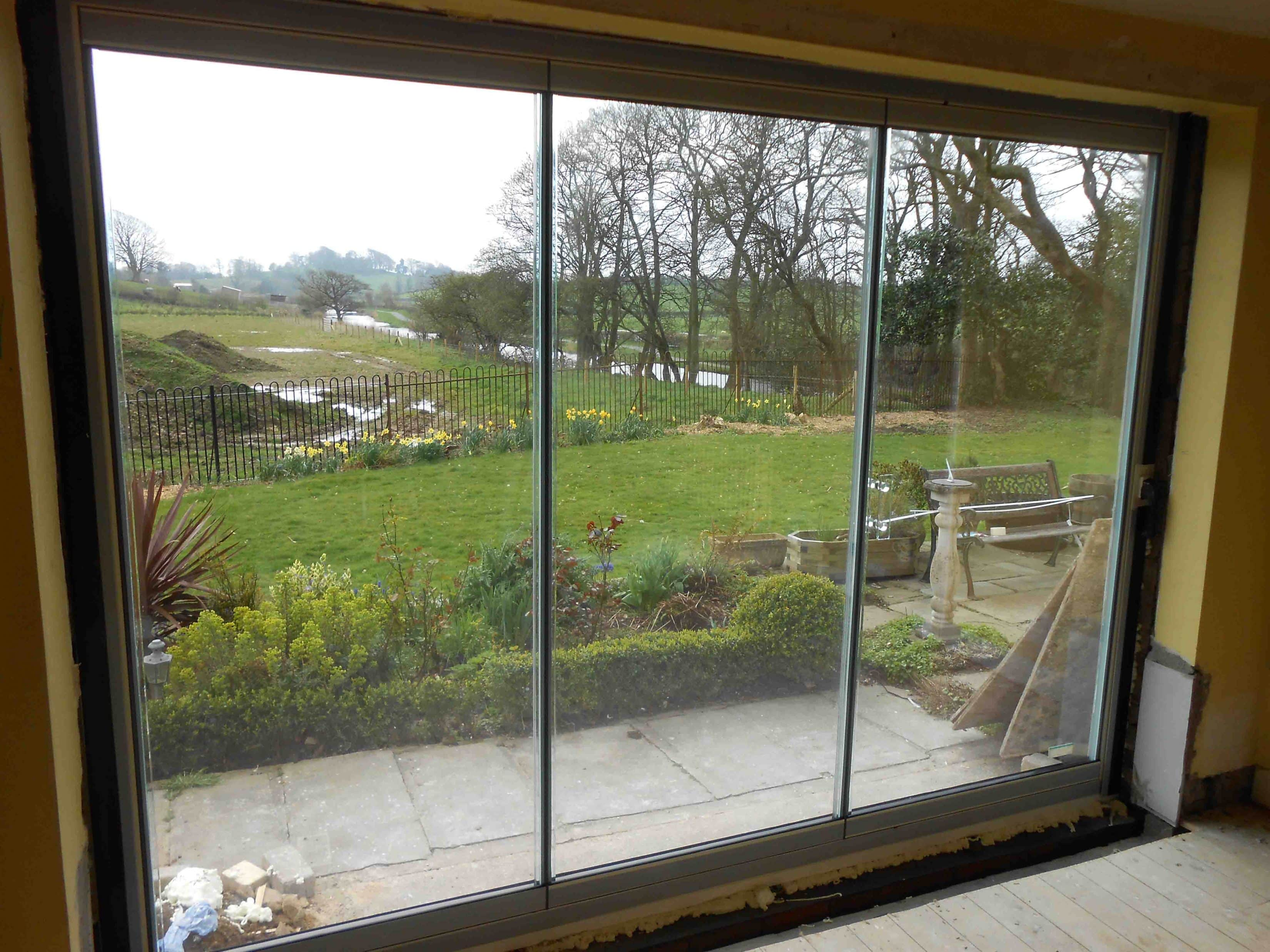 Frameless Double Glazed Patio Doors Lancashire