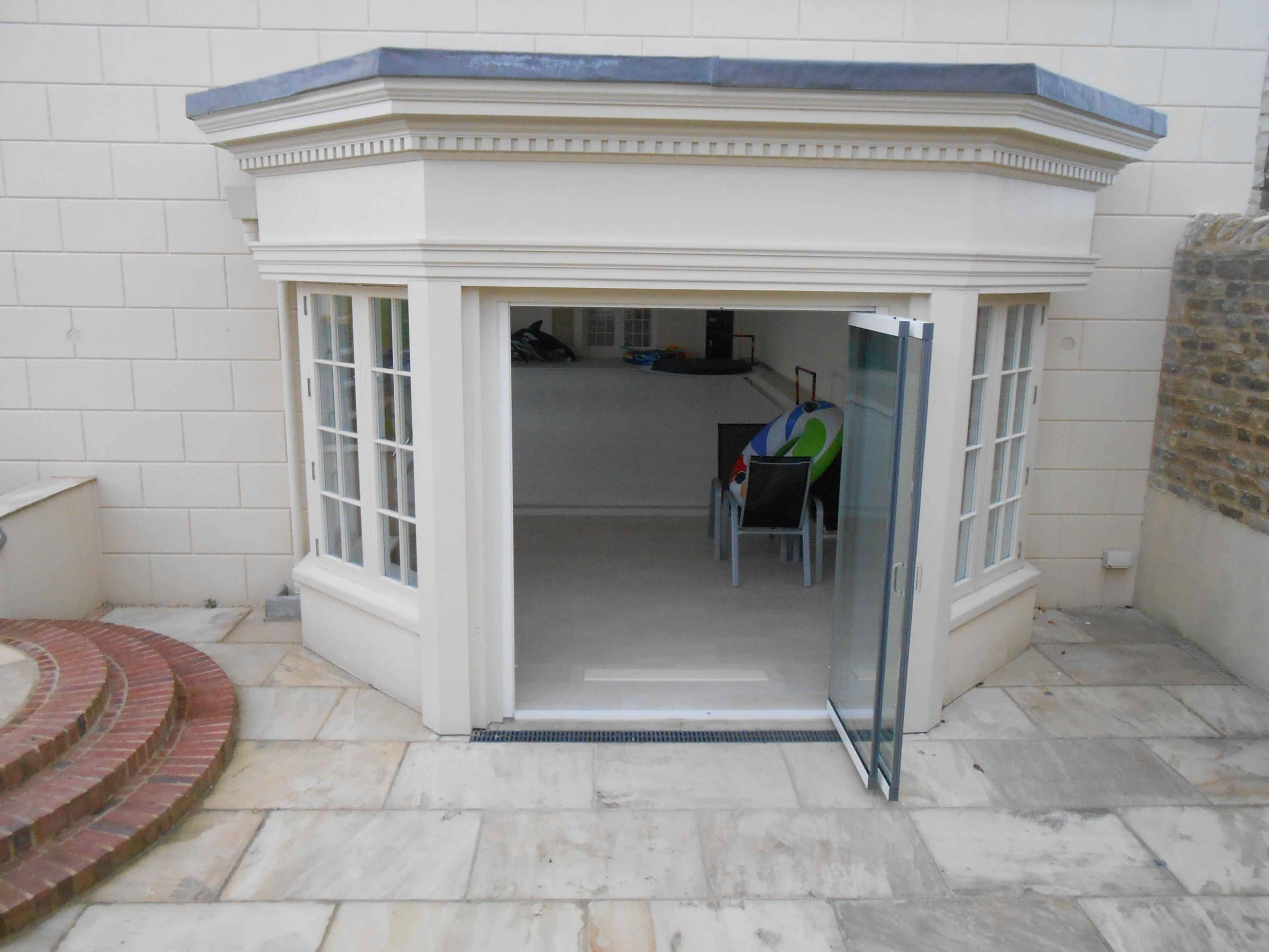Frameless Glass Patio Doors Oxford