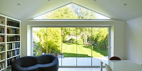 Henley-On-Thames Double Glazed Frameless Patio Doors
