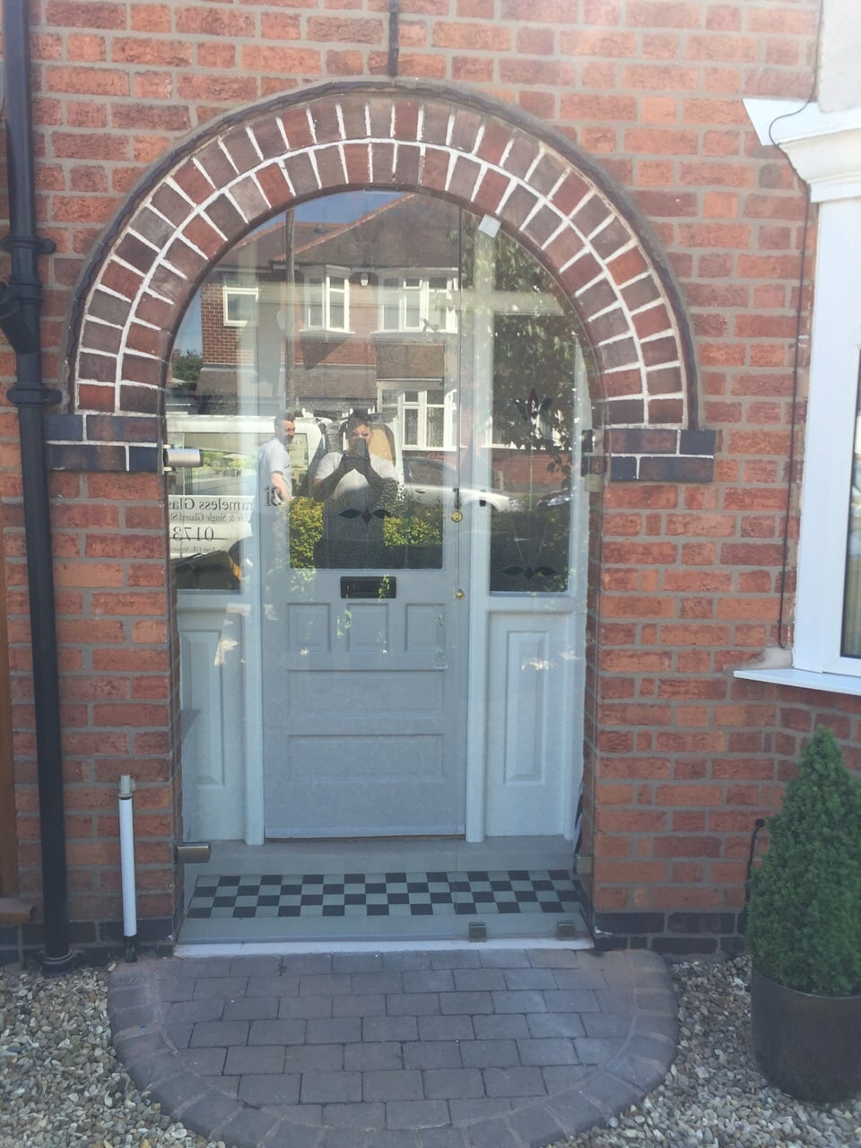 Glass Porch Doors in Leicester