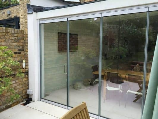 What can you do if you want bifolding doors with the widest individual door panels? Our doors provide the solution.