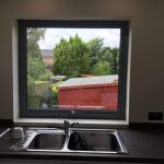 Kent frameless doors with window image 2