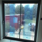 Kent frameless doors with window image 1