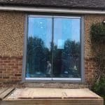 Kent frameless doors with window image 5