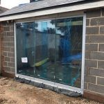 Sheffield 3-Panel frameless doors image 3