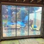 Sheffield 3-Panel frameless doors image 2