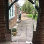 Hampshire frameless porch doors image 6