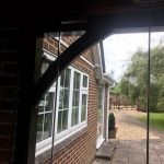 Hampshire frameless porch doors image 1