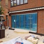London Frameless 5 & 3-panel doors