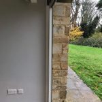 Beaminster Frameless doors & gable window image 8