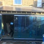 London dual colour frameless doors image 3