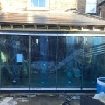 London dual colour frameless doors image 4