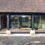Kent 5-panel slide & fold doors image 15