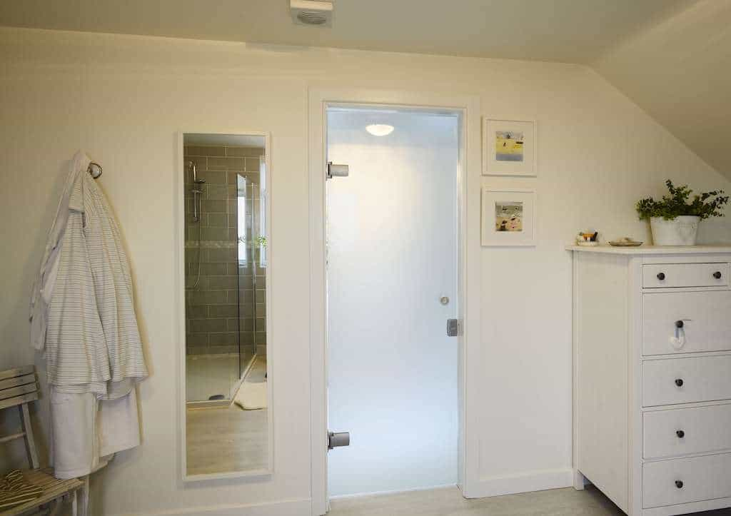 internal frameless doors