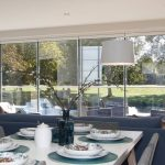 background image of Frameless patio doors