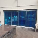 Surrey, 4-panel sliding and fold doors.