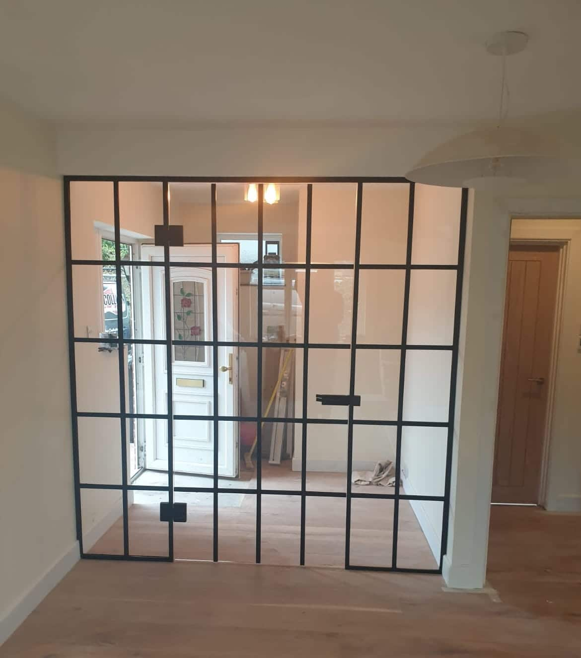 steel-look internal screen in Surrey