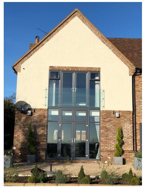 frameless glass balustrades in Buckinghamshire