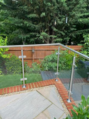 glass balustrades in rochester new home